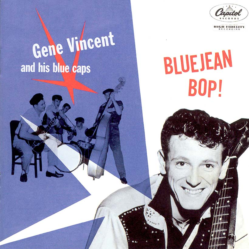 cbe4db68216 Gene Vincent And His Blue Caps Bluejean Bop Album Cover web optimised 820