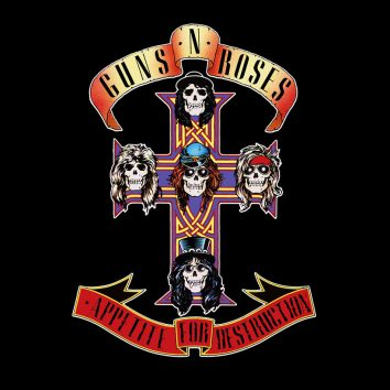 Guns N Roses Appetite for Destruction album cover web optimised 820