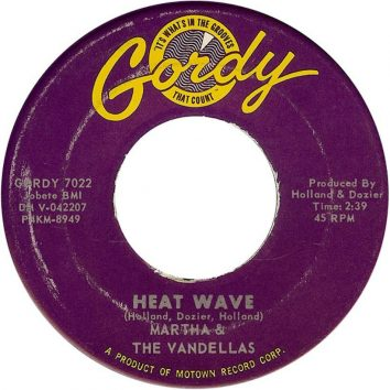 Heat Wave Martha & Vandellas