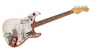 Jimi Hendrix George Harrison New Fender Guitars