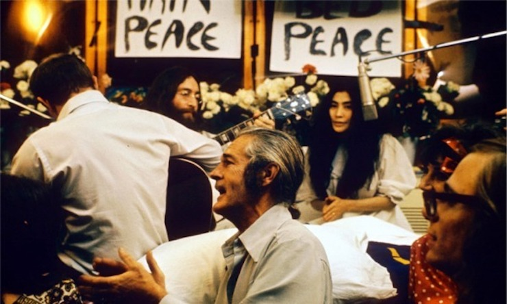 John & Yoko Bed-In