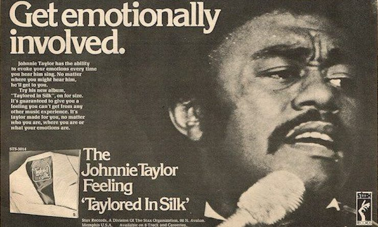 Taylored In Silk ad Johnnie Taylor