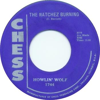 Natchez Burnin' Howlin' Wolf