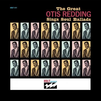 The Great Otis Redding Sings Soul Ballads Album Cover, Stax 60