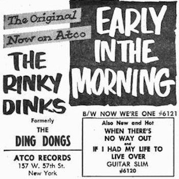 Rinky Dinks ad