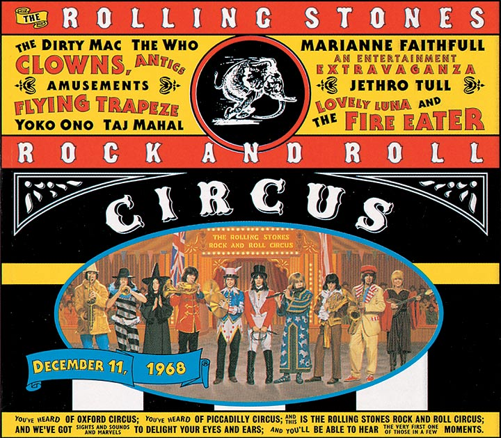 Rolling Stones Rock And Roll Circus artwork