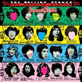 Rolling Stones Some Girls Album Cover