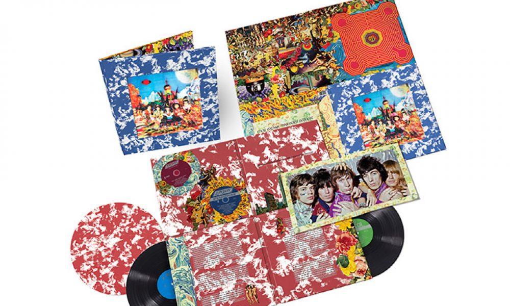 The Rolling Stones Their Satanic Majesties Request Vinyl Box Set Artwork With Slipmat