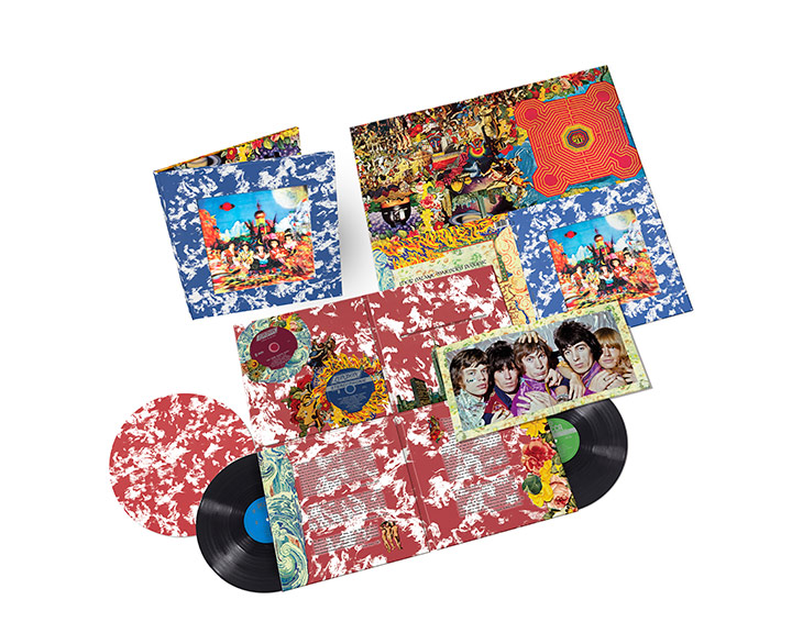 The Rolling Stones Their Satanic Majesties Request Vinyl Box Set Artwork With Slipmat