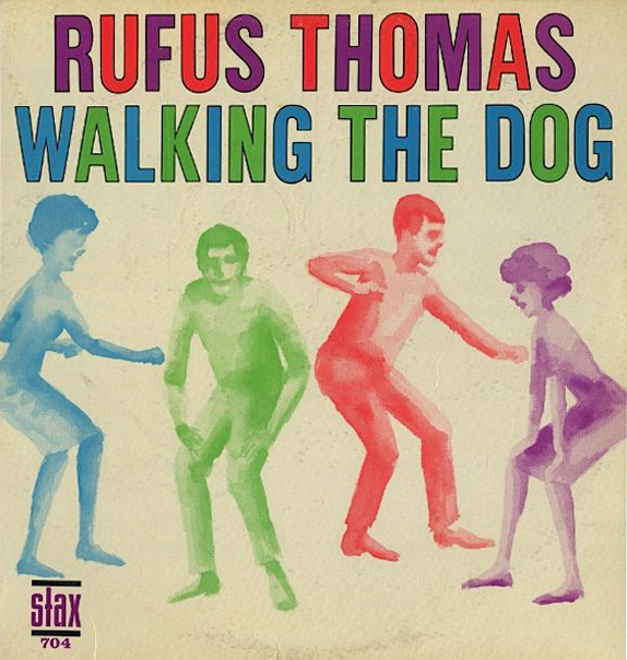 Rufus Thomas Walking The Dog Album Cover