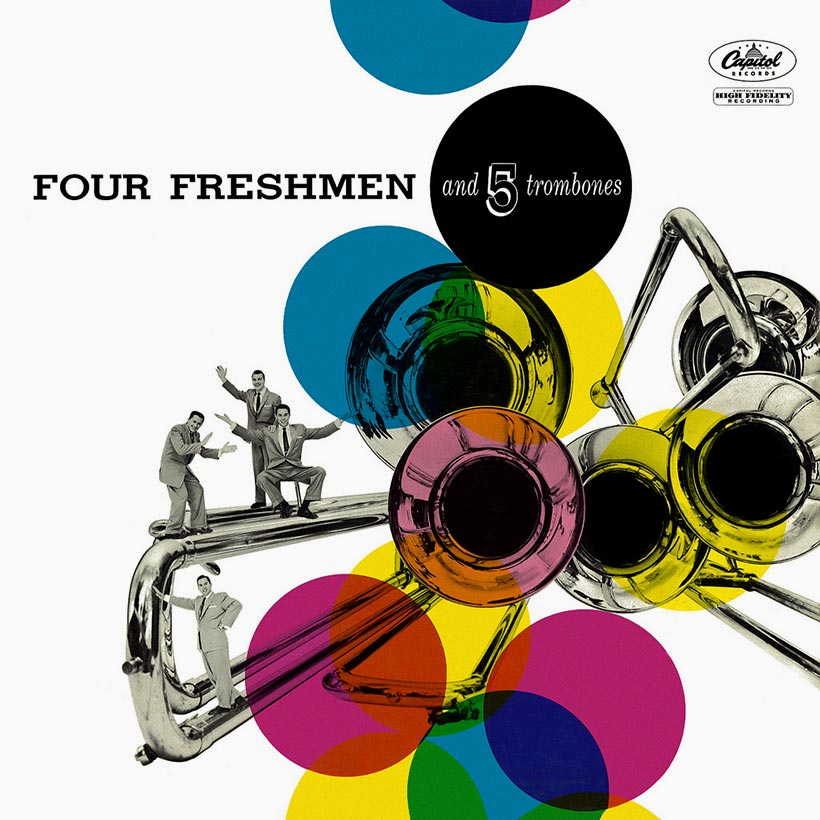 Four Freshmen And 5 Trombones Album Cover 820