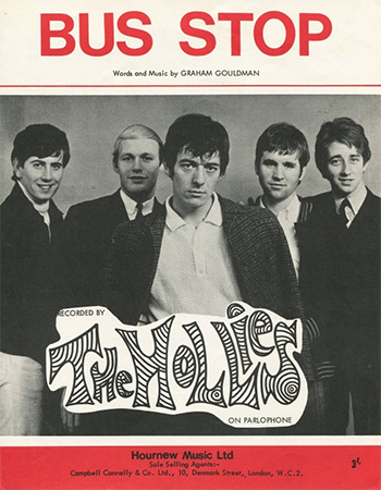 Graham Gouldman, Bus Stop, The Hollies, 10cc