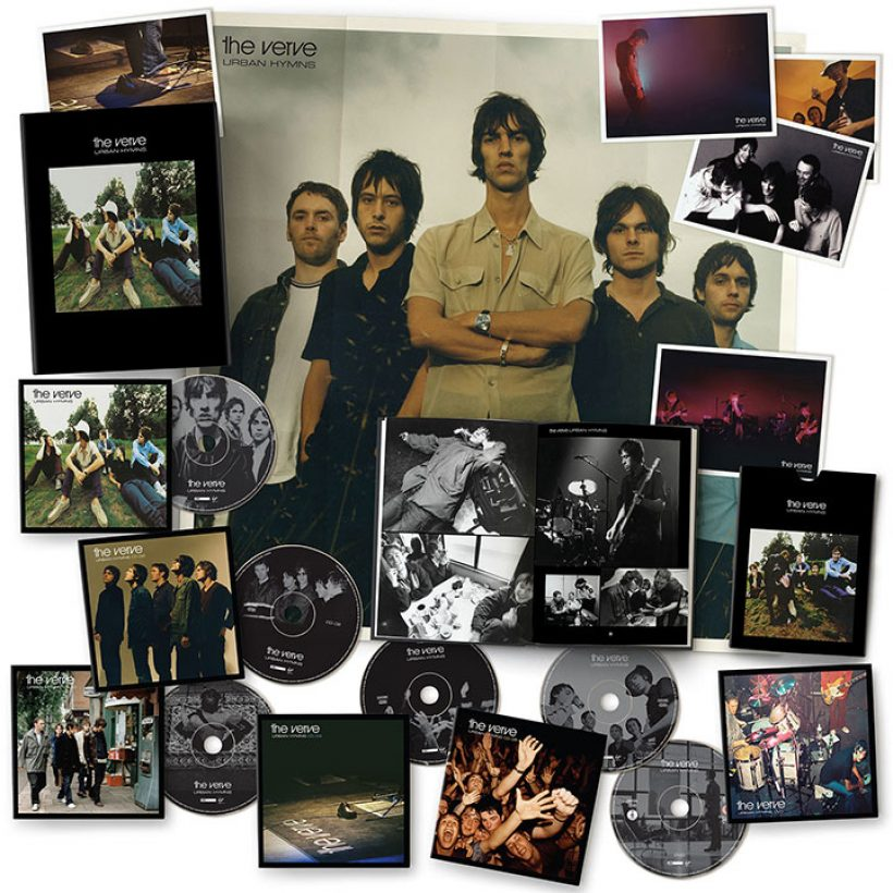 The Verve Urban Hymns Deluxe Edition Packshot