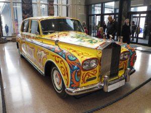 John Lennon Famous Rolls Royce London Exhibition