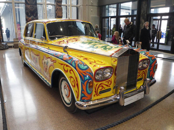 John Lennon's Famous Psychedelic Rolls-Royce Returns For London Exhibition