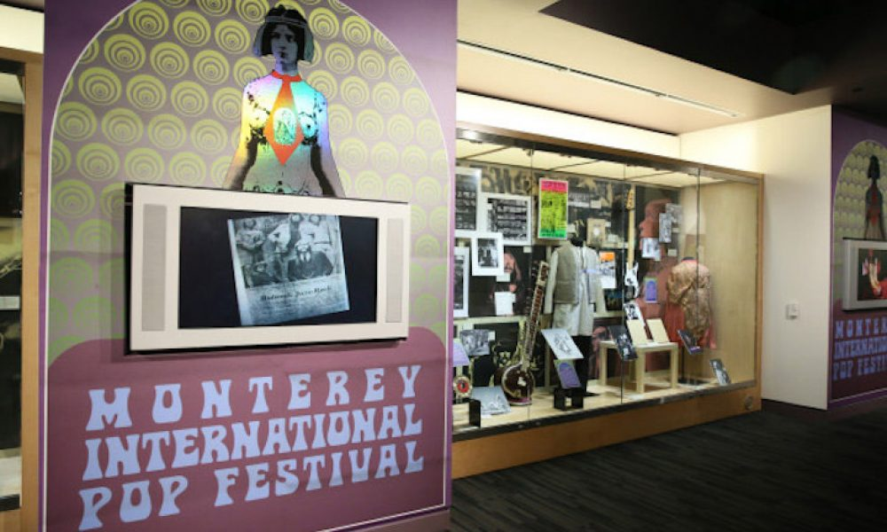 Monterey Pop Exhibit Grammy Museum