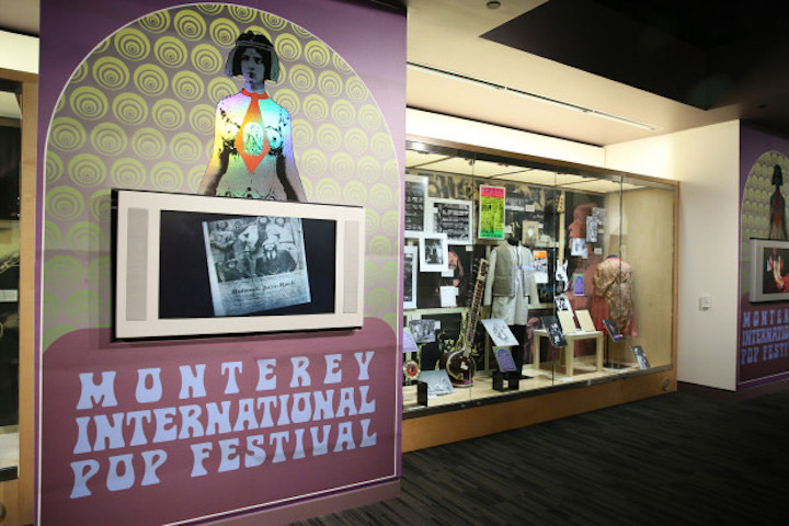 Monterey Pop Exhibit Grammy Museum