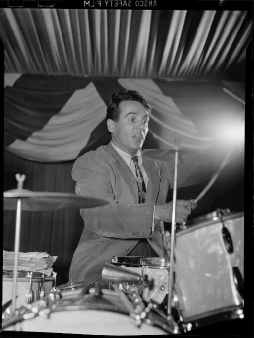 Gene Krupa, William Gottleib