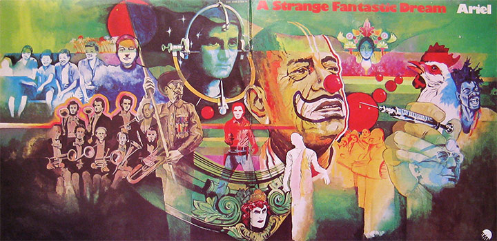 Aerial A Strange Fantastic Dream Gatefold Album Cover