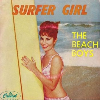 Beach Boys Surfer Girl Australian sleeve