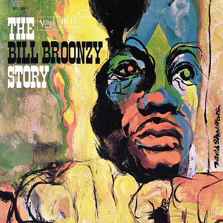 Big Bill Broonzy The Big Bill Broonzy Story Album Cover