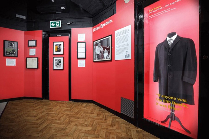 Brian Epstein Exhibit Opens At The Beatles Story In Liverpool