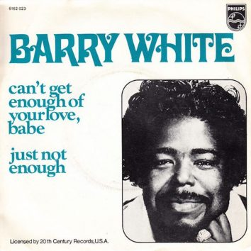 Barry White Can't Get Enough of Your Love, Babe