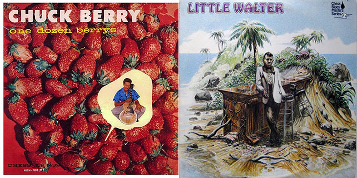 Chuck Berry One Dozen Berrys, Little Walter Album Cover