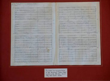 The Beatles' Original 'Eleanor Rigby' Score To Be Auctioned