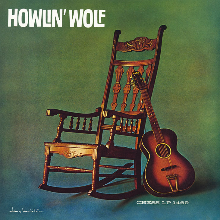 Howlin' Wolf Album Cover