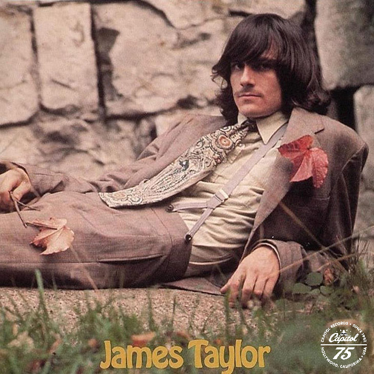 James Taylor Apple debut album