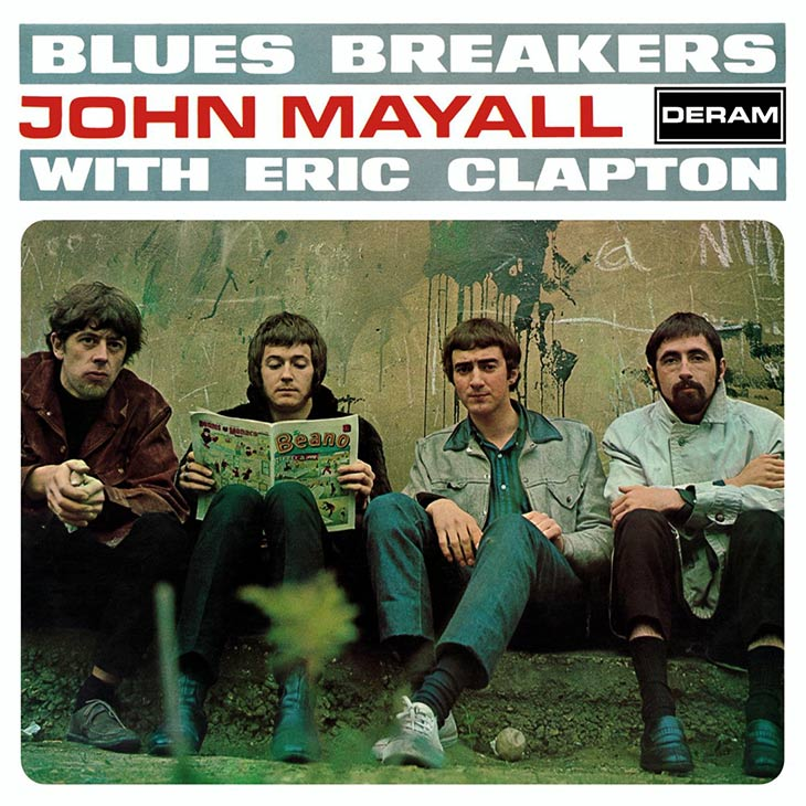 John Mayall Blues Breakers With Eric Clapton Album Cover