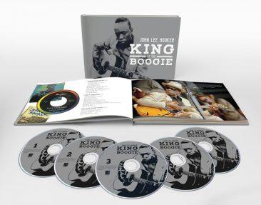 Career-Spanning Box Set Crowns John Lee Hooker 'King Of The Boogie'