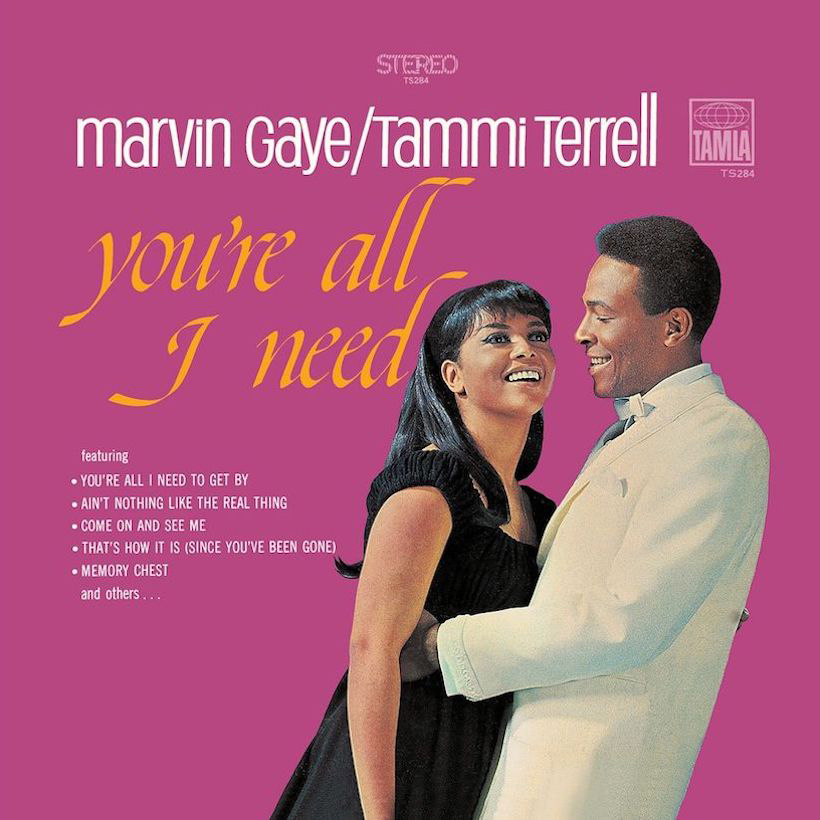 Marvin Gaye Tammi Terrell You're All I Need to Get By