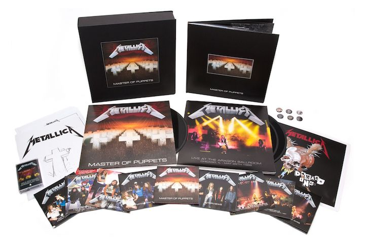 Metallica's 'Master Of Puppets' Gets Multi-Format Reissue