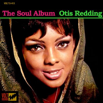 Otis Redding The Soul Album album cover