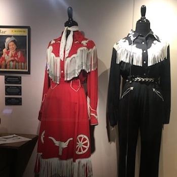 Patsy Cline Museum dresses