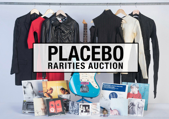"""Placebo Announce Forthcoming Charity """"Rarities Auction"""""""
