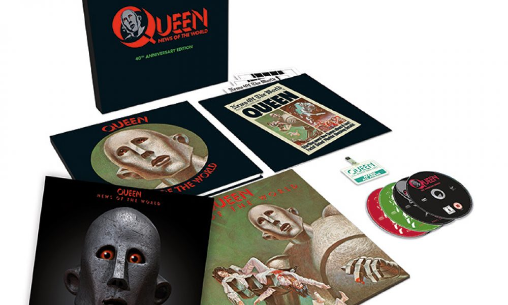Queen News Of The World 40th Box Set With D2C Print