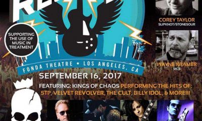 Guns N'Roses Stone Temple Pilots Rock To Recovery