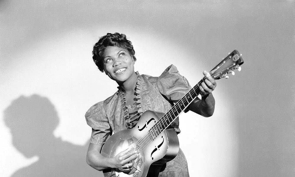 Rosetta Tharpe photo by James Kriegsmann/Michael Ochs Archives and Getty Images
