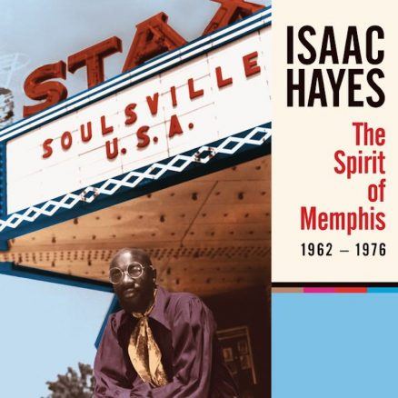 Isaac Hayes The Spirit Of Memphis Album Cover