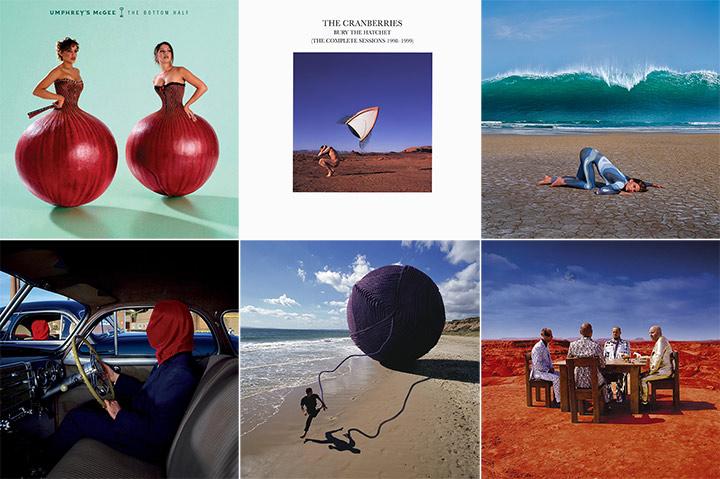 Storm Thorgerson Album Cover Montage