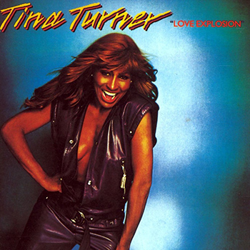 Tine Turner Love Explosion Album Cover