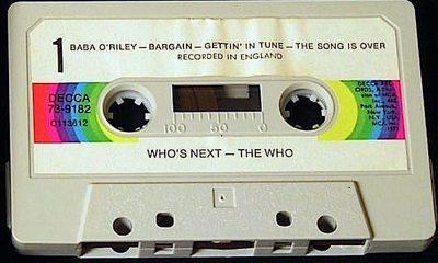 Who's Next cassette