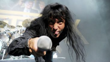 Anthrax's Joey Belladonna Sings US National Anthem At NFL Game