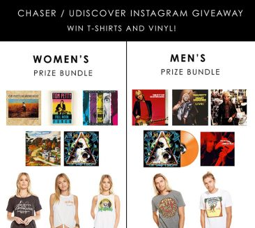 Chaser Brand / uDiscover T-Shirts and Vinyl Giveaway