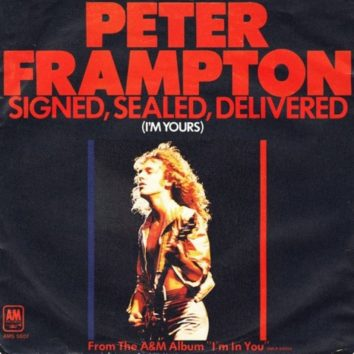Signed, Sealed, Delivered I'm Yours Peter Frampton
