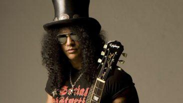 Slash Named As Gibson's First-Ever Global Brand Ambassador