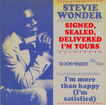 'Signed, Sealed, Delivered I'm Yours' Links Stevie Wonder, Peter Frampton & Many More